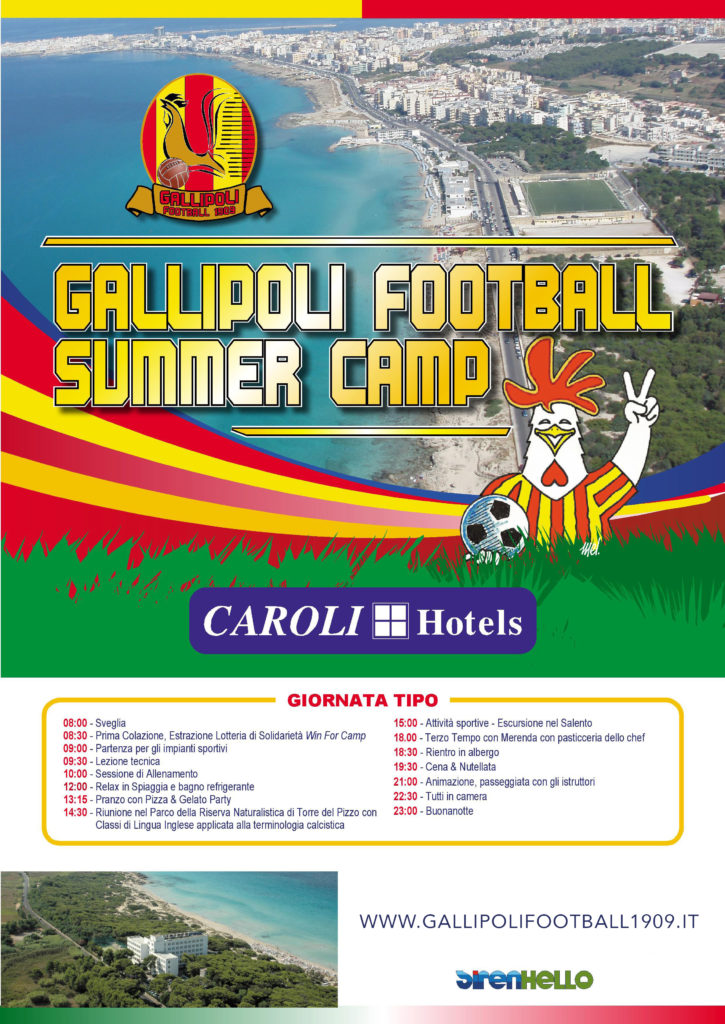 Promo Gallipoli Football Summer Camp 2011 copia